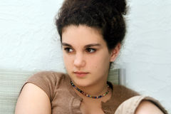 smutna dziewczyna Zdjęcia Royalty Free