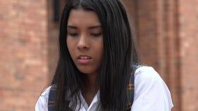 Smutna dziewczyna Z niepokojem obrazy stock