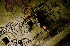 smutna goth kobieta Fotografia Royalty Free