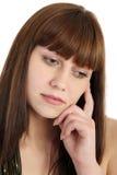 smutna kobieta Zdjęcie Royalty Free