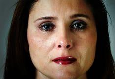 smutna kobieta Zdjęcia Royalty Free