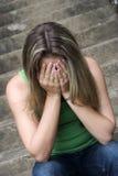smutna kobieta Zdjęcia Stock