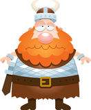 Smutna kreskówka Viking Zdjęcia Royalty Free