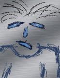 smutna twarz ilustracji