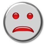smutne emoticon Zdjęcie Stock