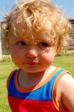 Smutny dziecko fotografia royalty free