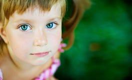 smutny dziewczyny liitle obrazy royalty free