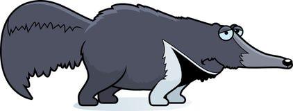 Smutny kreskówki Anteater Obrazy Royalty Free