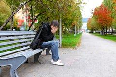 Smutny mężczyzna Zdjęcia Royalty Free