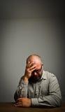 Smutny mężczyzna Obraz Royalty Free