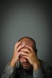 Smutny mężczyzna Zdjęcie Royalty Free