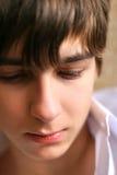 smutny nastolatek Fotografia Royalty Free