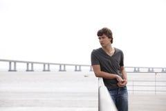 smutny nastolatek Zdjęcie Stock
