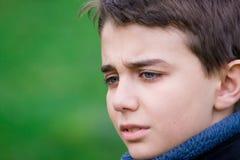 smutny nastolatek Zdjęcia Stock