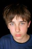 smutny nastolatek Obraz Royalty Free