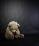 Smutny niedźwiadek Fotografia Stock