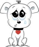 smutny pies również zwrócić corel ilustracji wektora Zdjęcie Stock