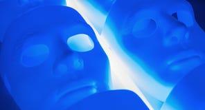 Smutny twarzy maski poczęcie Obrazy Royalty Free