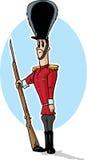 Smutny zabawkarski żołnierz Obraz Royalty Free