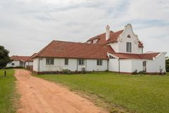 Smuts house in KwaZulu Natal, South Africa, colonial house stock photos