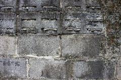 Smuts, smuts och konkreta yttersidor, betonggolv Royaltyfria Foton