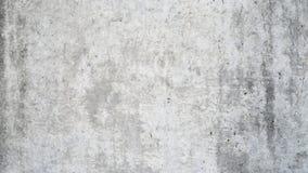 Smutsa ner den gråa betongväggen Arkivfoton