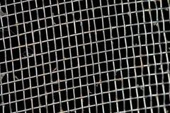 Smutsa ner metallisk nudelsikttextur Arkivfoton