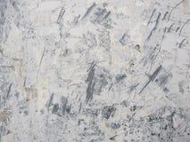 Smutsa ner och grungevitväggen Arkivbild