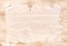 Smutsa ner papper med gränsbakgrund Royaltyfri Bild