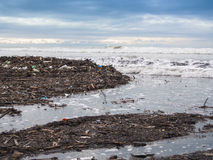 Smutsa ner stranden Royaltyfri Bild