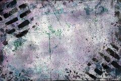 Smutsig abstrakt bakgrund med vinrankor och svarta rektanglar royaltyfri fotografi