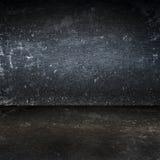 Smutsig bakgrund för rum för metallyttersida Royaltyfri Fotografi