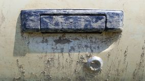 Smutsig bil för dörrhandtag arkivbilder