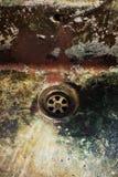 smutsig drain Royaltyfri Foto