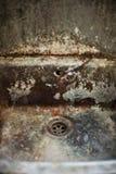 smutsig drain Royaltyfri Bild