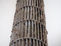 Smutsig fan för ekorrebur i luftkonditioneringsapparat Royaltyfria Bilder