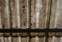 Smutsig fibertakbakgrund Royaltyfria Foton