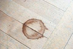 Smutsig fläck på golvet Royaltyfria Bilder