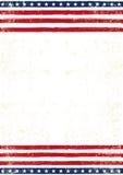 Smutsig flaggaaffisch för amerikan Royaltyfria Bilder