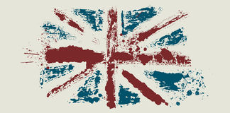 smutsig flaggavektor för borste Royaltyfri Bild
