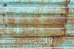 Smutsig gammal metallyttersida Vit-grå färger grungetextur close upp stock illustrationer