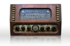 smutsig gammal radio Royaltyfri Fotografi