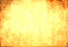 Smutsig gulingpapperstextur Royaltyfria Bilder
