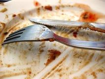 smutsig maträtt Royaltyfria Bilder