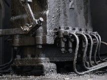 smutsig motor Royaltyfria Bilder