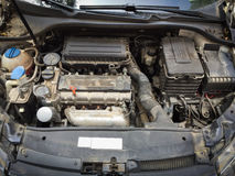 smutsig motor Arkivbild