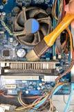 Smutsig PCdator Royaltyfri Fotografi