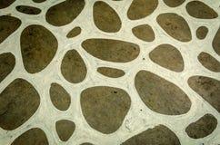 Smutsig sten- och vittextur Arkivbild