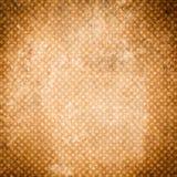 smutsig tappning för bakgrund Retro modell med prickar och texturer Texturerad gammal bakgrund modell texturerad traditionell vek Royaltyfri Bild