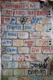 smutsig vägg Royaltyfria Bilder